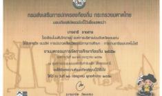รางวัลชนะเลิศการประกวดสื่อ กลุ่มสาระการเรียนรู้การงานอาชีพและเทคโนโลยี  งานมหกรรมการจัดการศึกษาท้องถิ่น ระดับประเทศ  ปี 2552